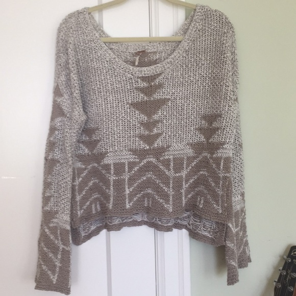 Free People Sweaters - Free people cropped sweater size M